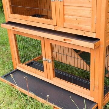 bunny-business-zweistoeckiger-kaninchen-meerschweinchenstall-mit-ausziehfaechern-ca-104-cm-2