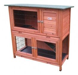 bunny-business-zweistoeckiger-kaninchen-meerschweinchenstall-mit-ausziehfaechern-ca-104-cm-1